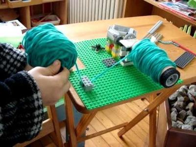 Lego Yarn Winder by Benjamin, age 6 3.4