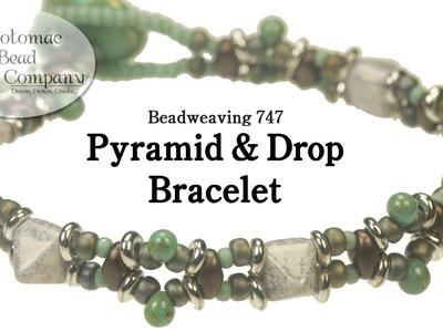 Make a Pyramid & Drop Bracelet