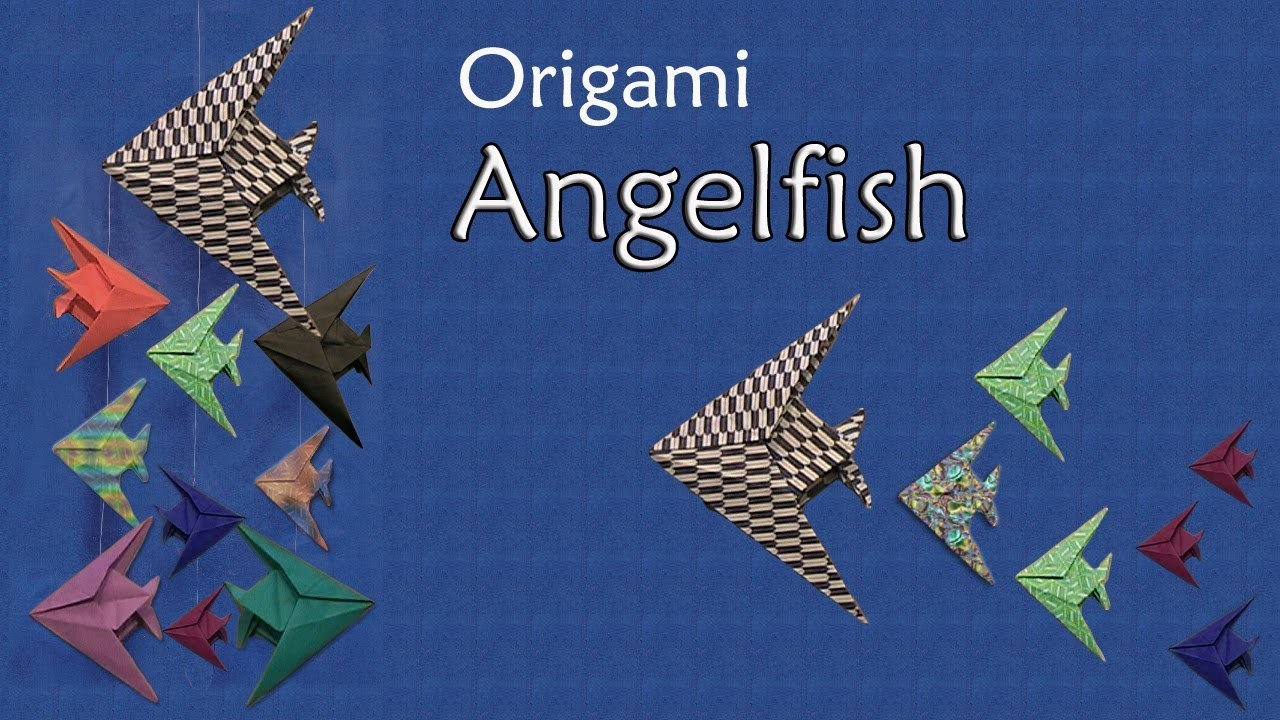 Origami Angelfish by John Montroll