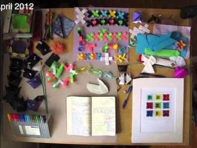 Origami Creativity Table --2012 Visual Diary