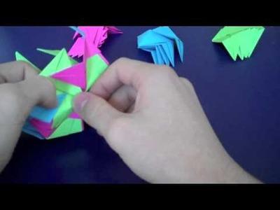 Origami Sonobe ball 30