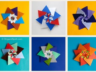 Origami Star : : Cloe' Star - Estrella modular