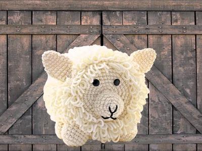 Sheep ~ Amigurumi Crocheted Toilet Paper Cover