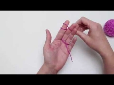 Single Finger Knitting