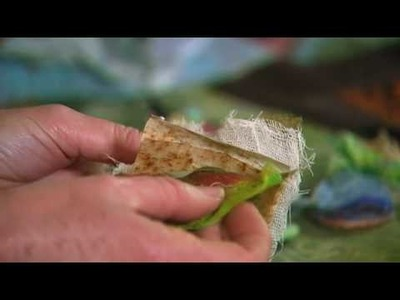Textile crafts with textile artist Marilyn Pipe