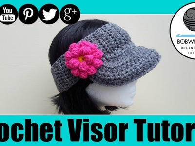 The Curtis Visor Crochet Tutorial