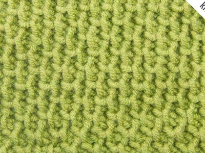 The Tire Tread Stitch:: Tunisian Crochet Stitch #11 :: Right Handed