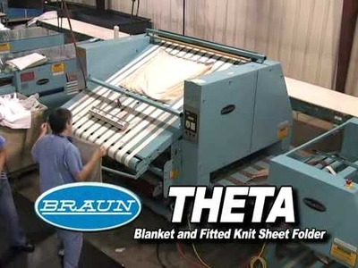 Theta Blanket and Fitted Knit Sheet Folder