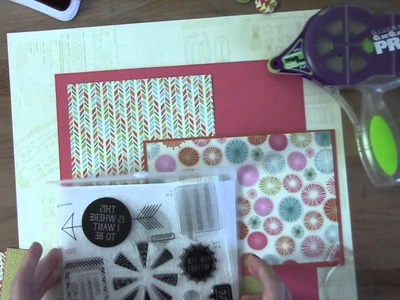 This is What I Want 12x12 Scrapbook Layout Inspiration Tutorial