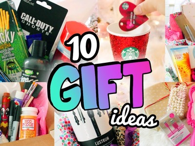 10 HOLIDAY GIFT IDEAS ♥ Friends, Boyfriends & More!