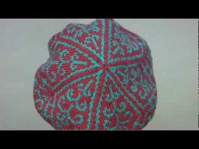 #18 Fair Isle Tam, Vogue Knitting Fall 2009