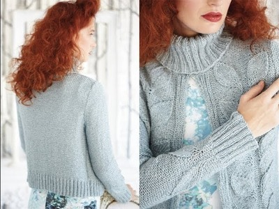 #20 Open Front Pullover, Vogue Knitting Winter 2012.13