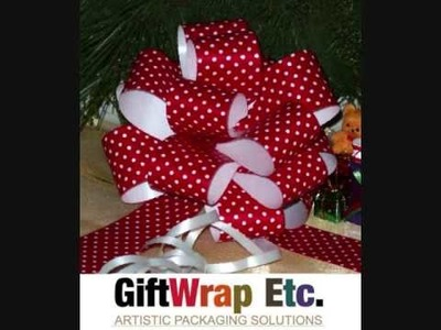 Adorable and Affordable Christmas Gift Pull Bows