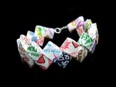 ■  BeyondBracelets - My Candy Wrapper Bracelets (Starburst & DumDum's Creations)