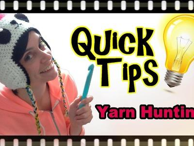 Crochet Quick Tips - Yarn Hunting!