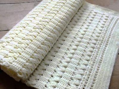 Cute Crochet Baby Blanket