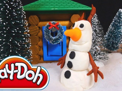 Disney Frozen Play Doh Olaf The Snowman Playdough Toy Creations! Disney Pixar Cars 2 DIY Tutorial