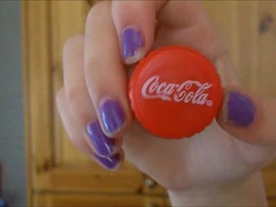 DIY: coca cola lip gloss container