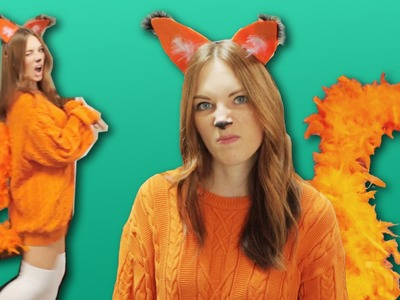 DIY FOX COSTUME - LAST MINUTE