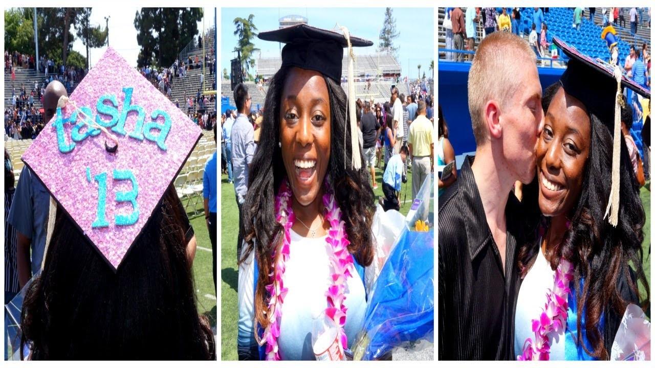 DIY Graduation Cap Decorations! | Mini Grad Vlog