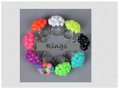 DIY - How to Make Easy Pearl Rings