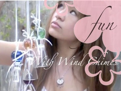 DIY: MeiIris' Catch The Fall Breeze (Shot Glass Wind Chime)
