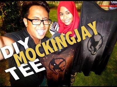 DIY Mockingjay Tee