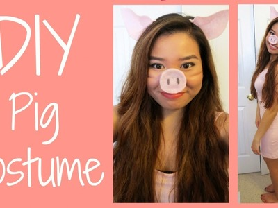 DIY: Pig Costume