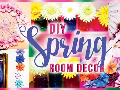 DIY Spring Room Decorations. Decor for Your Room! Teenagers, Apartment, Bedroom IDEAS