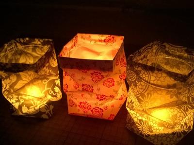 DIY Tealight Holder - DIY Knickwindlicht