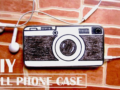 DIY Vintage Camera Phone Case