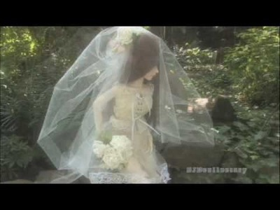 Easy Bridal Veil for your Doll