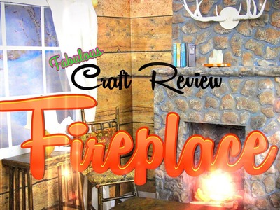 Fabulous Craft Review:  Doll Fireplace