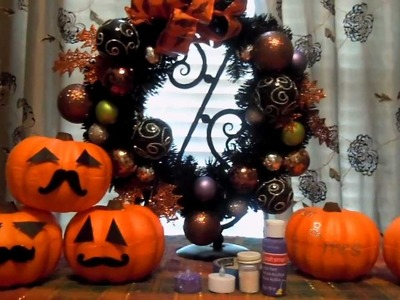 Fall & Halloween DIY Crafts
