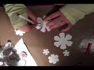 "Flower Tutorial - ""Londyn"" Flowers Prt 1"