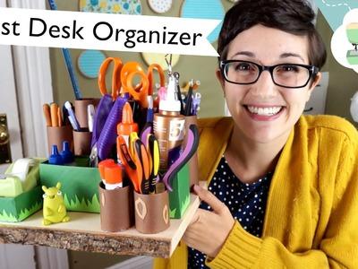 Forest Desk Organizer Tutorial