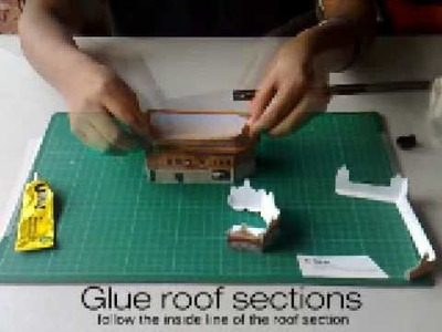 Golden Temple Papercraft tutorial