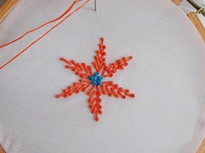 Hand Embroidery: Pollin Stitch