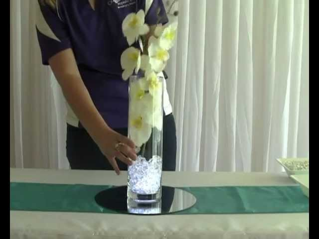 How to Create a Butterfly Orchid Wedding or Party Table Centrepiece Decoration