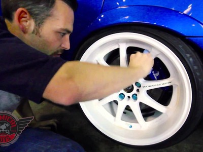 How To: Detail White Wheels - Chemical Guys Car Care Subaru STi Work Emotion