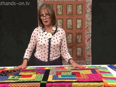 How to Extend your quilt borders with Valerie Nesbitt