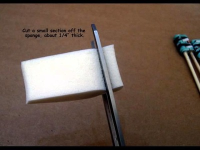 How To Hand Paint Paper Bead Ends