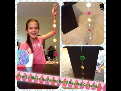 How To Make A Perler Bead Beaded Curtain!! Super Cool DIY!