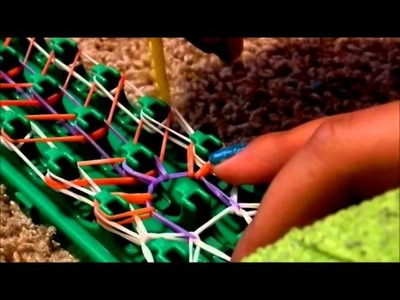 How to make a zippy chain crazy loom bracelet