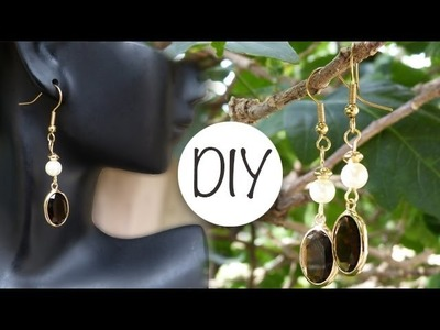 How to Make Drop Earrings | Pearl and Gem