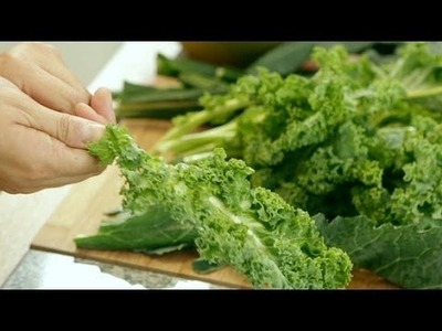 How to Stem Kale in a Flash | POPSUGAR Cookbook