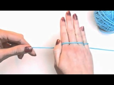 Left Hand Beginner Crochet: #3 How to Hold Yarn for Crochet