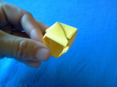 Origami ring - Anillo de papel