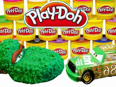 Play-Doh Sesame Street Oscar the Grouch Disney Pixar Cars 2 Chick Hicks Play Doh DIY Tutorial!