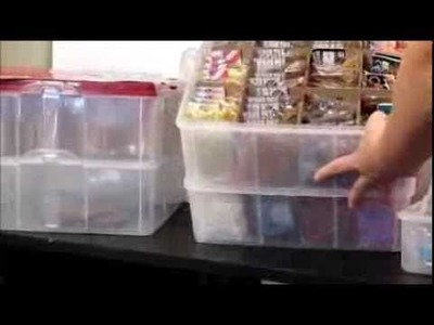 Rainbow Loom BAND ORGANIZATION How to Tips from Crafty Ladybug